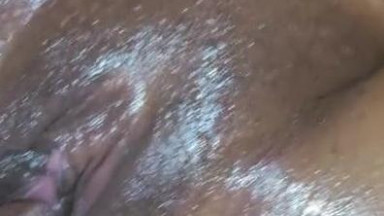 Wasn't ready to cum, but her pussy felt so good  Kept fucking after 1st nut.