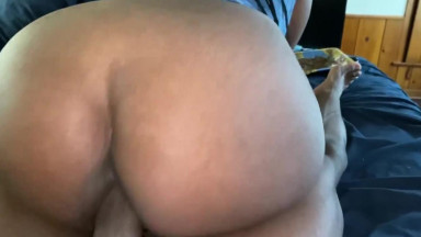 Big Booty Teen Reverse Cowgirl