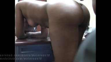 Office PA takes cum inside her pussy & mouth