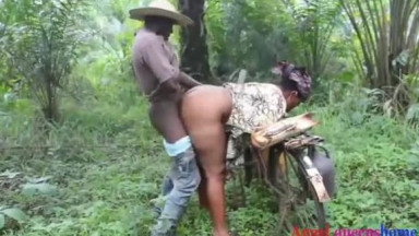 African farmer caught cheating