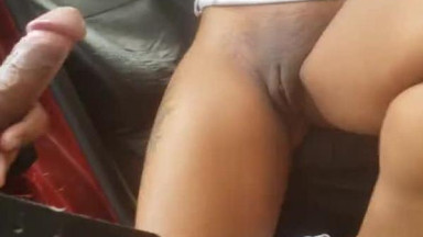 Caught fucking in public, co-workers sextape