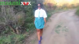 Mzansi Student In Uniform