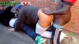 Campus Students Threesome