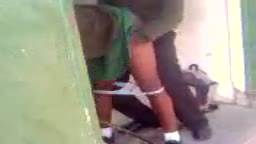 Mzansi students fucking at school toilets
