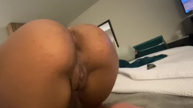Light Skin Ebony Teen Sucks, Fucks