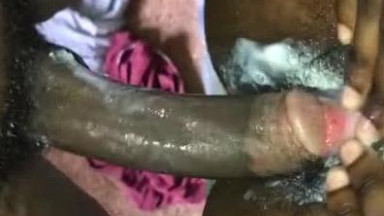 Wet and creamy pussy